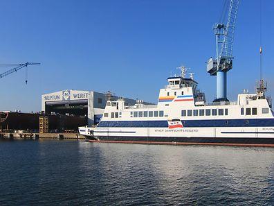 """In Luxemburg soll die Holding der Meyer-Werft als """"société européenne"""" aufgezogen werden."""