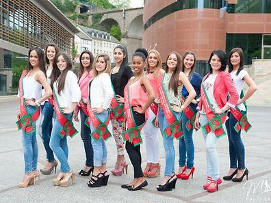 Die zwölf Kandidatinnen