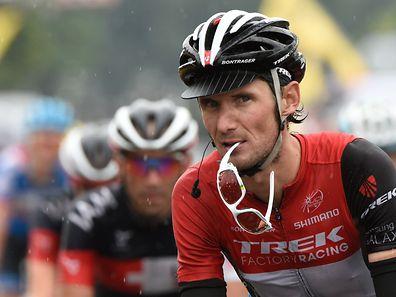 Frank Schleck (Trek Factory Racing) im Ziel der 19. Etappe