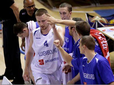 Tom Schumacher und das Luxemburger Basketballteam sind auf Widergutmachung aus.