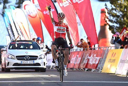 Tour de Catalogne: le grand numéro de De Gendt, Jungels dixième