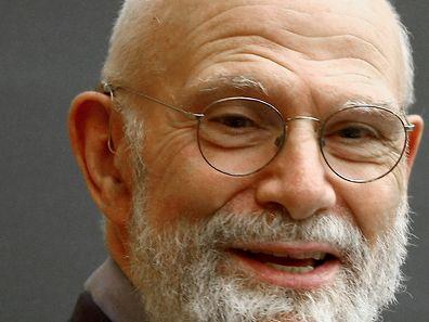 Une photo de 2009 d'Oliver Sacks lors de l'une de ses conférences à l'université de Colombia, à New York.
