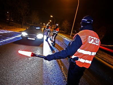 Polizeikontrolle (Archivfoto).