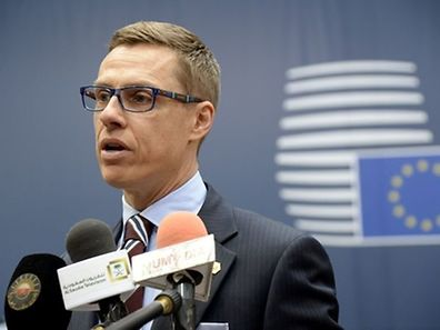 Finnish Prime Minister Alexander Stubb