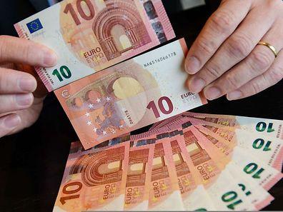 Die neue Banknote soll einen besseren Schutz gegen Fälschung bieten.