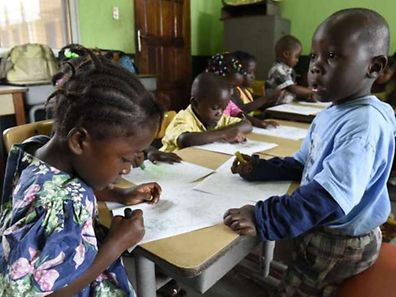 Children in Monrovia. Liberia, the hardest-hit nation, has seen 3,000 cases of Ebola and almost 1,600 deaths