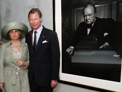 """Im April 2005 besuchte Großherzog Henri als erster ausländischer Staatschef das """"Winston Churchill Museum"""", das im Februar desselben Jahres von der britischen Königin eröffnet wurde."""