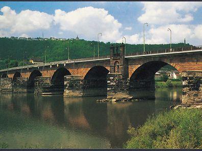 Die Römerbrücke in Trier.