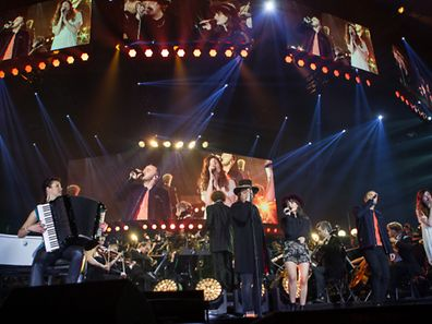 Night of the proms 2014, All the artists, photo Joaquim Valente