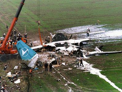 Le Fokker 50 de Luxair s'était crashé le 6 novembre 2002 entre Niederanven et Roodt-sur-Syre.