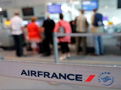 Am Montag konnte Air France nur etwa 41 Prozent der Flüge sicherstellen.