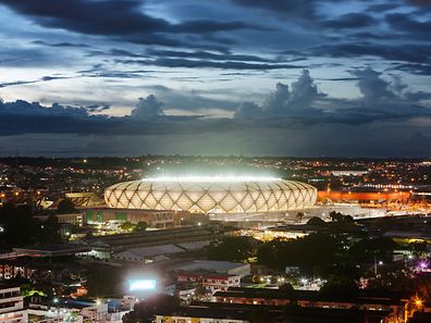 The World Cup stadium in Manaus