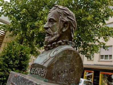 Busto de Camões em Bonnevoie