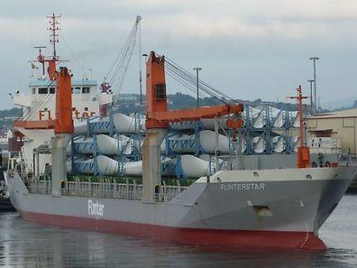 """Die """"Flinterstar"""" war an dem Unfall auf See beteiligt."""