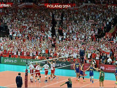 Polen konnte auf die Unterstützung seines Publikums hoffen.