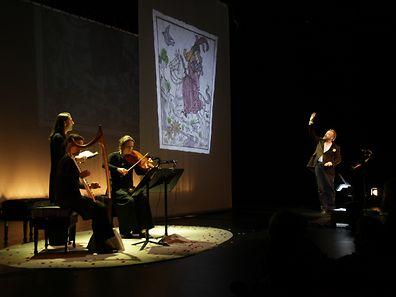 """""""Aucassin & Nicolette"""" ist ein Werk aus der französischen Mittelalter-Literatur, dessen zeitgenössische Inszenierung am Wochenende im Kapuzinertheater zu sehen ist."""