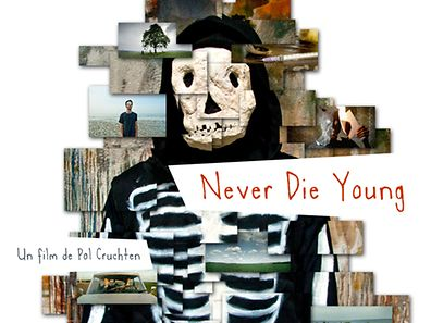Movie poster for the Luxembourg production Never Die Young