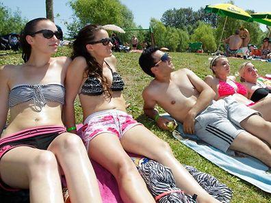 Der Juli war in diesem Jahr besonders warm. Ein Ausflug an den Badesee war somit oft nicht die schlechteste Idee