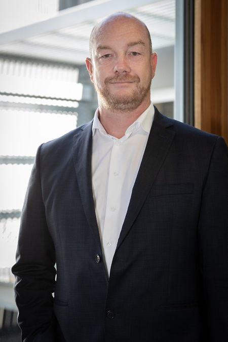 Fabrice Croiseaux, président d'Infrachain.