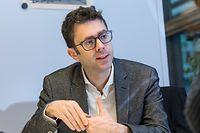 Wi , ITV Nicolas Bouzou , Economiste aus Frankreich , Thema die Arbeitswelt in der Zukunft , Foto:Guy Jallay/Luxemburger Wort