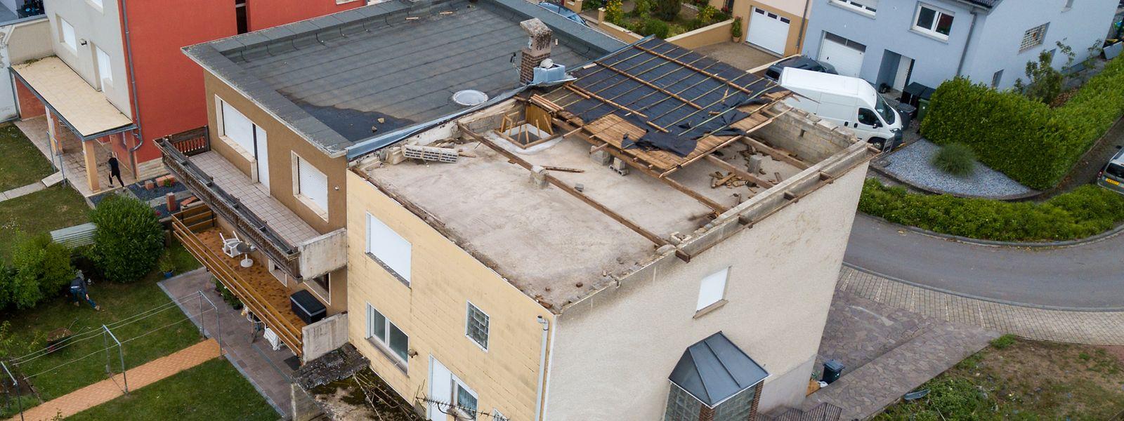 La tornade du 9 août 2019 a fait plus de 100 millions d'euros de dégâts.