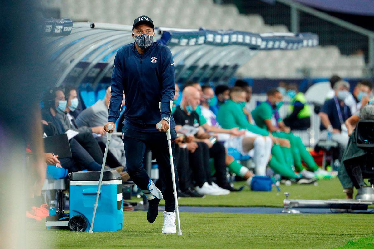 Wann Kylian Mbappé wieder spielen kann, ist derzeit noch unklar.