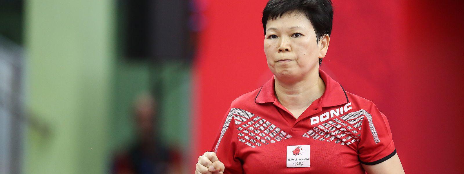 Oubliée la défaite en demi-finale, Ni Xia Lian a finalement décroché le bronze.