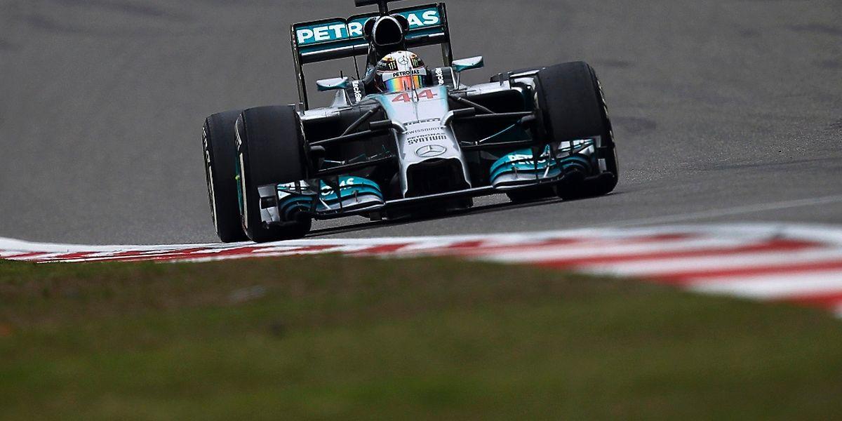 Lewis Hamilton ließ der Konkurrenz in China keine Chance.