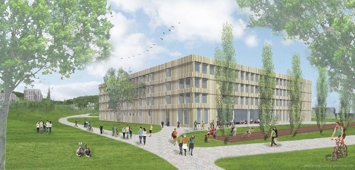 L'école sera définitivement terminée en 2018.