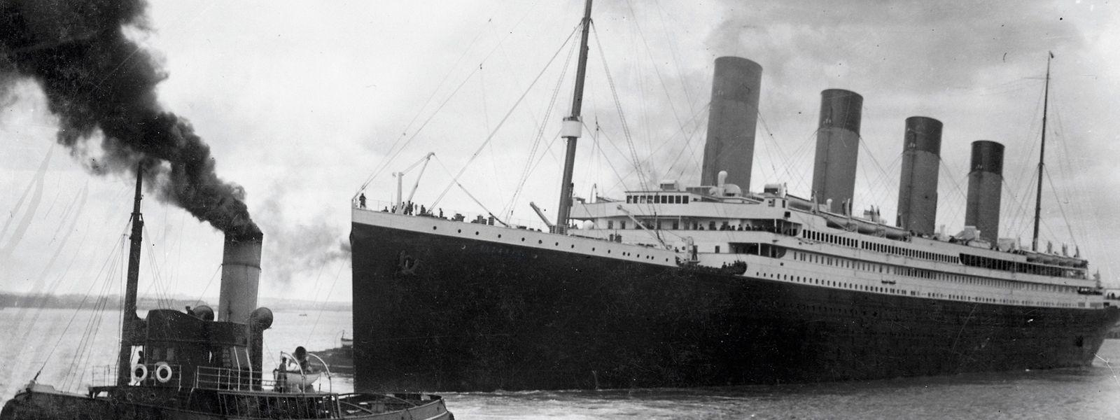 Die Titanic verließ den Hafen von Southampton in England am 10. April 1912. Vier Tage später sank sie noch auf ihrer Jungfernfahrt.