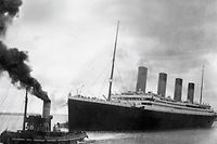 """TO GO WITH AFP STORY BY GUY JACKSON A handout picture received from Southampton City Council on April 4, 2012 shows the Titanic leaving Southampton on her ill-fated maiden voyage on April 10, 1912. Nowhere suffered as much from the sinking of the Titanic as Southampton and a century after the disaster the city wants to tell the largely forgotten story of its 549 residents who died.  RESTRICTED TO EDITORIAL USE - MANDATORY CREDIT  """" AFP PHOTO / SOUTHAMPTON CITY COUNCIL """"  -  NO MARKETING NO ADVERTISING CAMPAIGNS   -   DISTRIBUTED AS A SERVICE TO CLIENTS"""