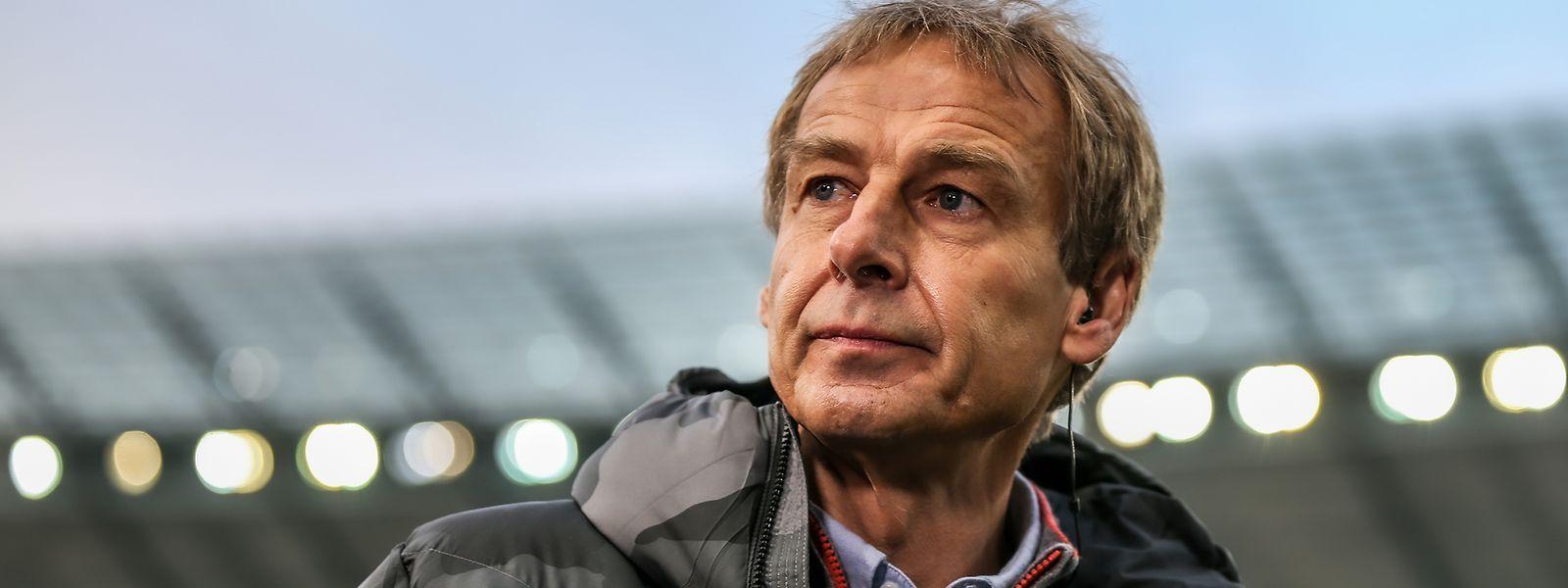 Jürgen Klinsmann hatte das Amt bei Hertha BSC erst im vergangenen November übernommen.