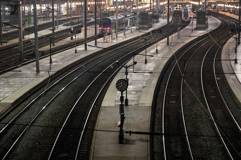 Der Zugverkehr wird an diesem Donnerstag auf ein Minimum reduziert.
