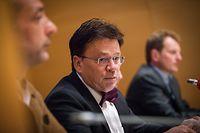 conférence de presse du STATEC - Note de conjoncture - La situation économique au Luxbourg  -   Serge Allegrezza - Foto: Pierre Matgé/Luxemburger Wort