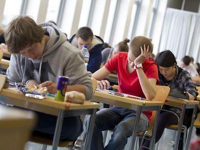 Am Mittwoch beginnen die Abschlussexamen.