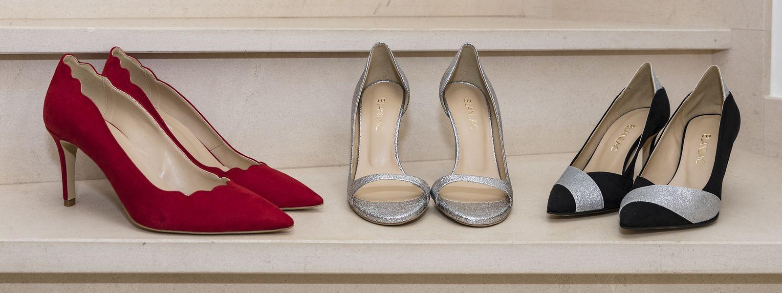 Begonnen hat Blanlac mit der Produktion veganer Stilettos, mittlerweile sind auch Schuhe mit flacheren Absätzen und Herrenschuhe dazugekommen.
