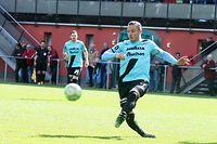 01 Fussball BGL Ligue Spielzeit 2018-19 zwischen der US Hostert und dem F91 Dudelingen am 12.05.2019 Tom SCHNELL (5 F91)