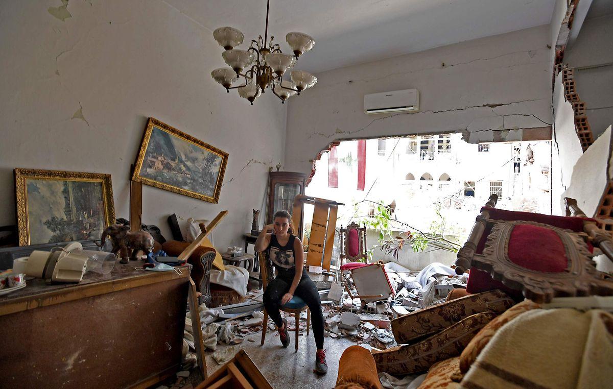 Bis zu 300.000 Menschen haben im Beirut infolge der Explosion ihr Zuhause verloren.