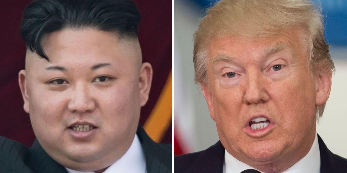 Donald Trump hat auf den angeblichen Wasserstoffbombentest von Kim Jong-un in Norkorea reagiert.