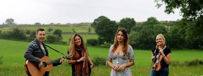 Le groupe irlandais Na Leanaí sera sur la scène de Neumünster le 24 janvier.