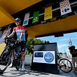 Bob Jungels (Quick-Step) vor dem Start in Lourdes - Tour de France 2018 – 19. Etappe – Lourdes / Laruns – 200,5km – Foto: Serge Waldbillig