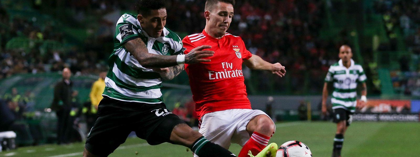 Sporting e Benfica  jogam hoje na Liga Europa.