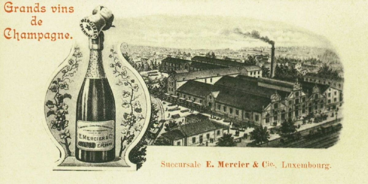 Mercier hatte ab 1886 eine Niederlassung in Luxemburg.