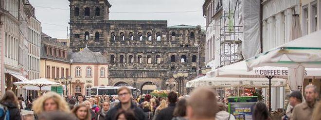 Das Wahrzeichen von Trier wurde 170 gebaut.