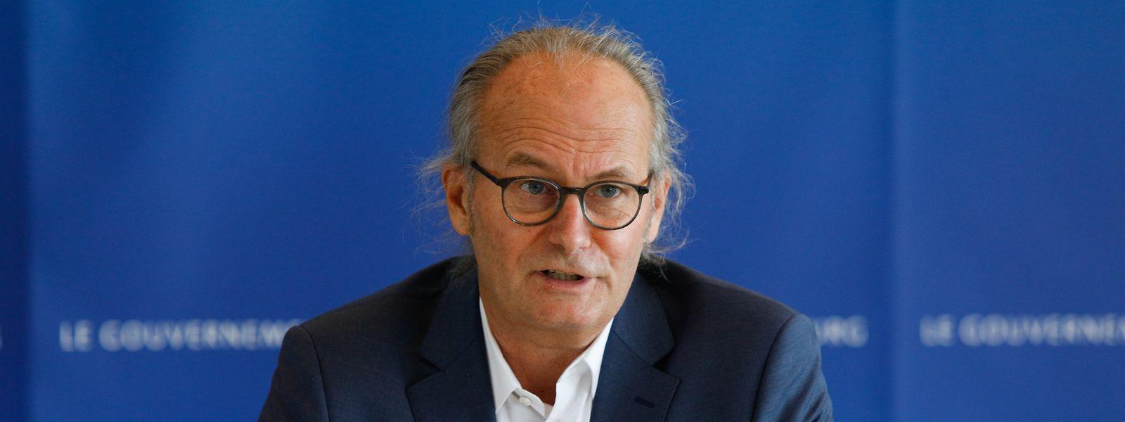 Voué à être utilisé de manière ciblée, l'hydrogène doit permettre de réduire «de un à deux millions de tonnes CO2 équivalents par an» les gaz à effet de serre au Luxembourg, selon Claude Turmes.