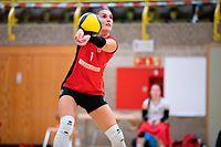 Anu Ennok (Mamer 1) / Volleyball, Novotel League Frauen, Mamer - Walferdingen / 10.10.2020 / Mamer / Foto: Christian Kemp