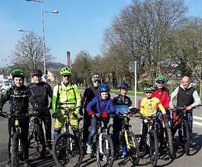 Mountainbike Training vum VC Dikkrich elo all Samsdigmoien
