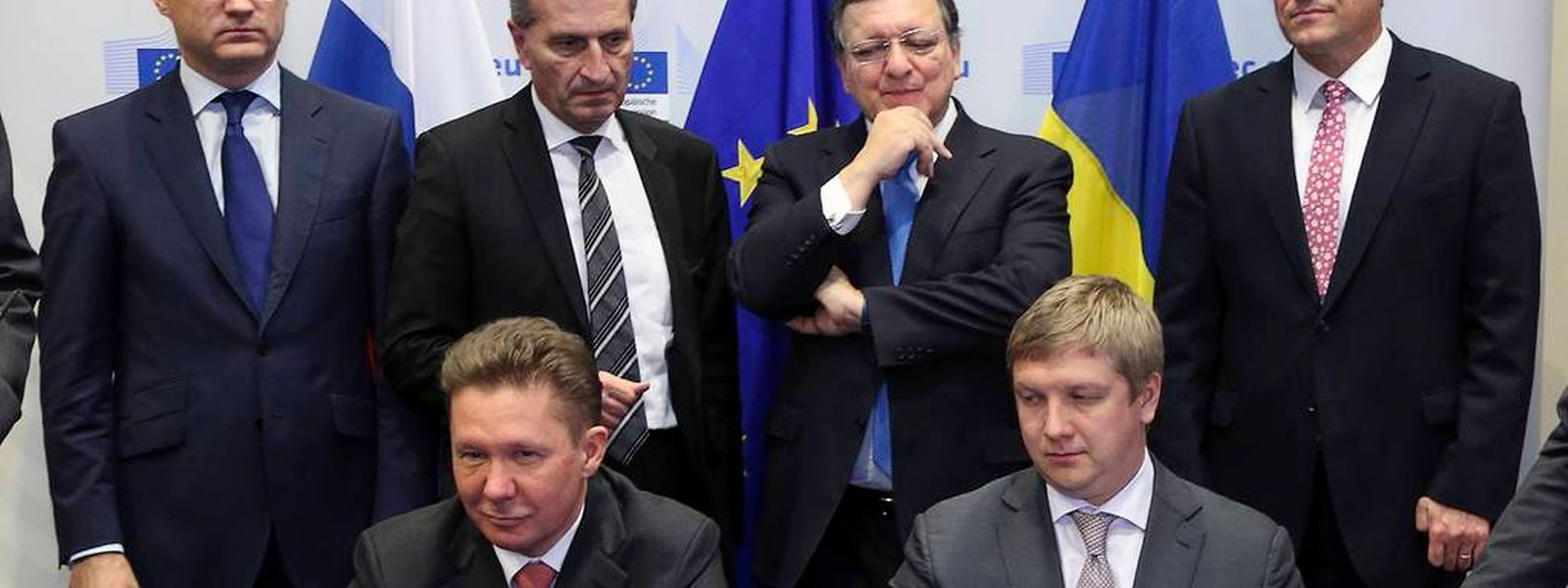 Der Gasstreit zwischen der Ukraine und Russland ist beigelegt.