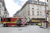 Lokales, Accident, Unfall, Pieton, Camion centre ville, Foto: Chris Karaba/Luxemburger Wort
