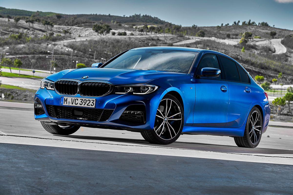 Der neue BMW 3er startet im Frühjahr zunächst als Limousine.